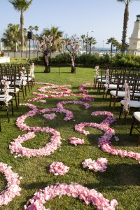 Made from 600 Pink Roses by Jackie Combs Floral Design